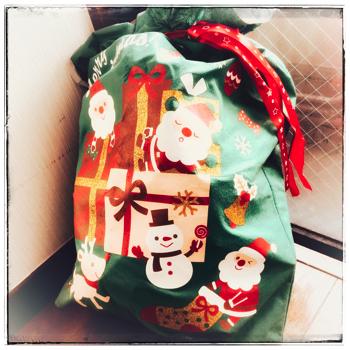 お菓子のプレゼント