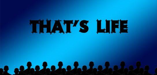 映画と人生を見る観客